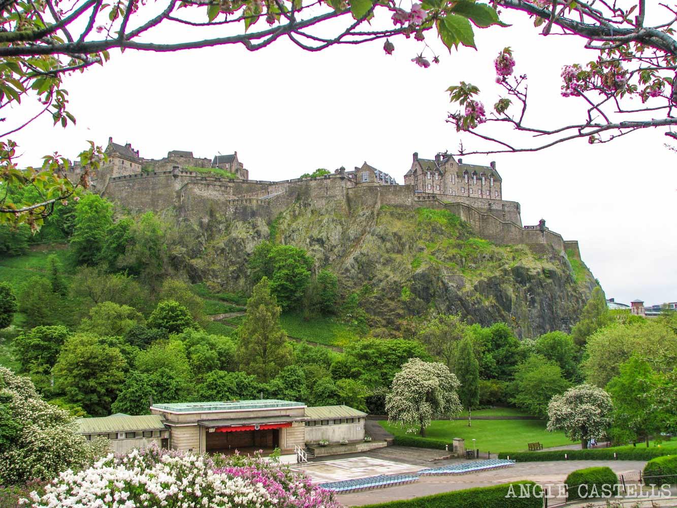 Guía de la primavera en Edimburgo - Los Princes St Gardens