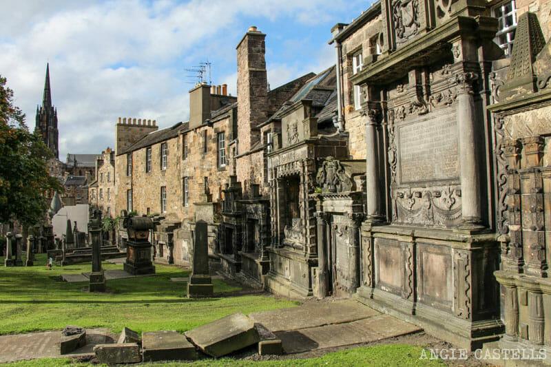 Leyendas de Edimburgo - El cementerio de Geyfriars