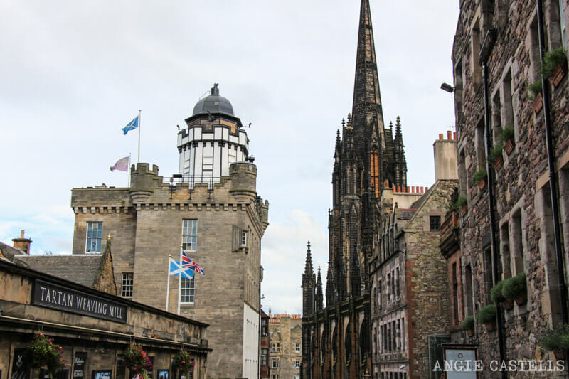 Ruta por la Old Town de Edimburgo - Royal Mile Camera Obscura