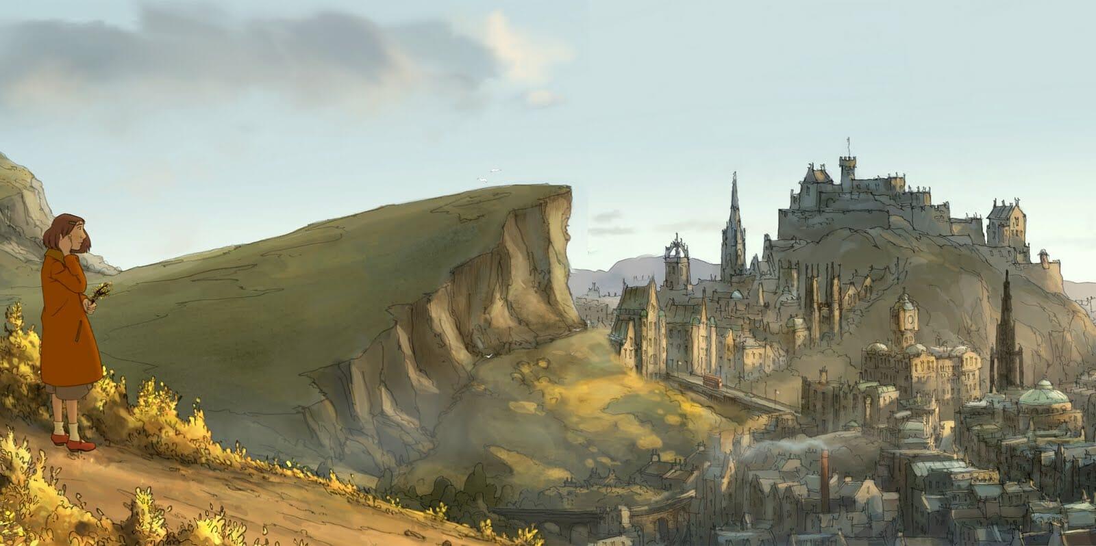 Edimburgo en el cine The Illusionist 2