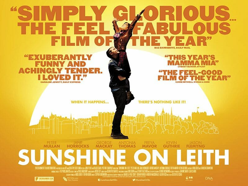 Edimburgo en el cine Sunshine on Leith