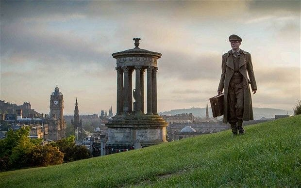 Películas rodadas en Edimburgo: The Railway Man en Calton Hill