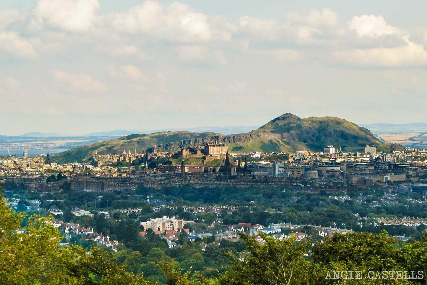 Los mejores miradores de Edimburgo: Corstorphine Hill