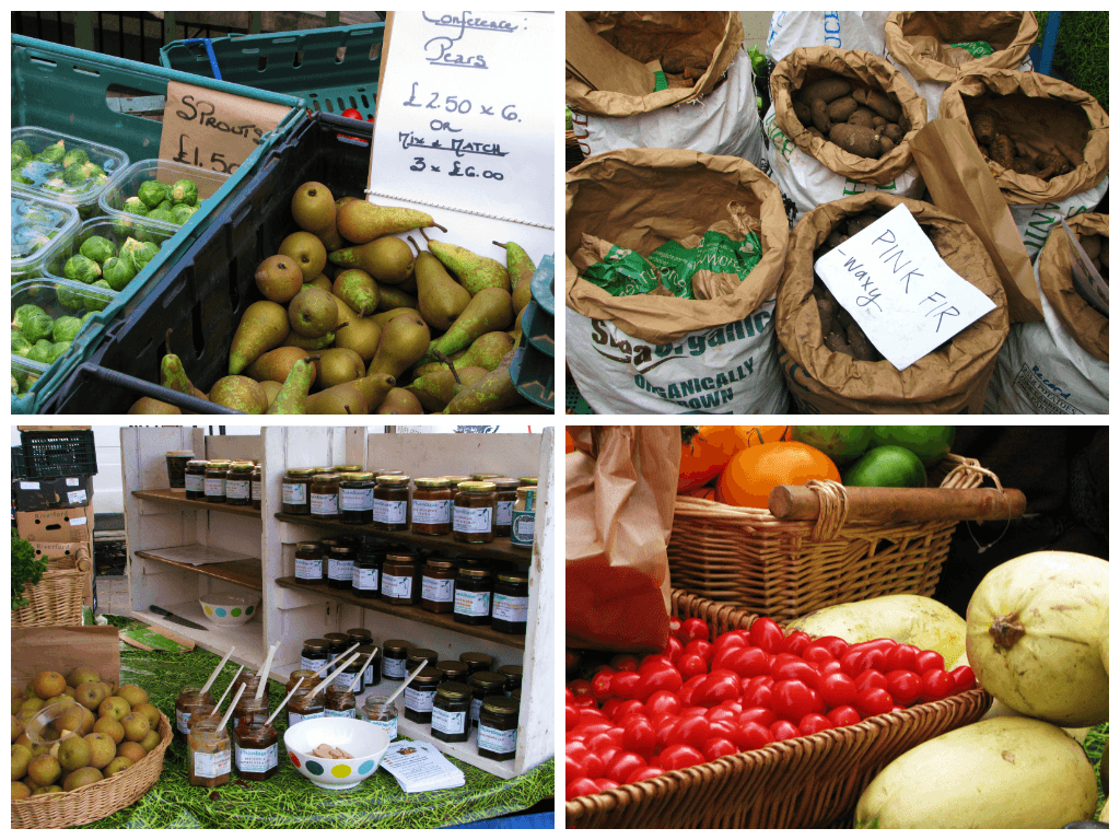 Farmer's Market, el mercado de productores de Edimburgo