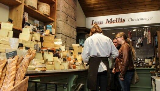 Los mejores quesos escoceses, y dónde comprarlos en Edimburgo
