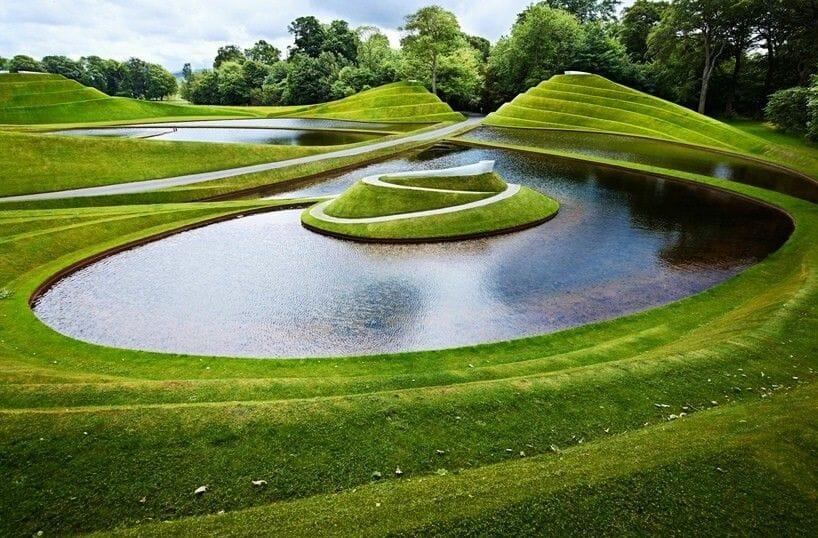 Jardines escultóricos de cuento en Escocia