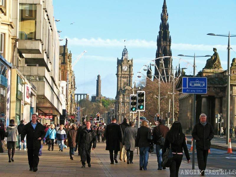 La-New-Town-de-Edimburgo-Princes-Street