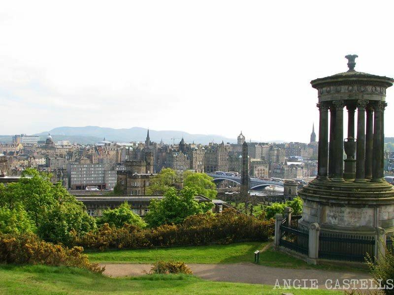 La-New-Town-de-Edimburgo-Calton-Hill
