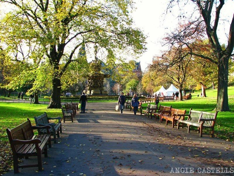 La-New-Town-de-Edimburgo-Princes-Street-Gardens