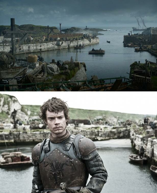 Dónde se rodó Juego de Tronos Greyjoy Ballintoy