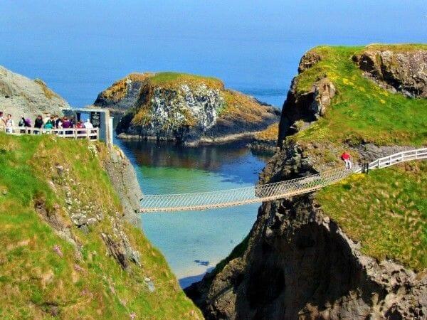 Dónde se rodó Juego de Tronos Puente Carrick a Bridge Irlanda del Norte