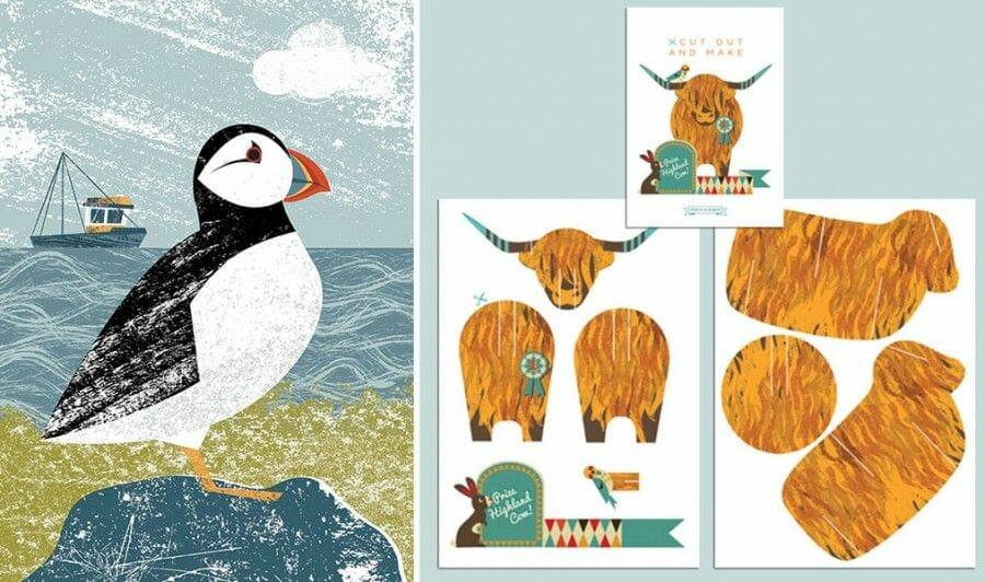 Dibujos de Escocia Kate McLelland