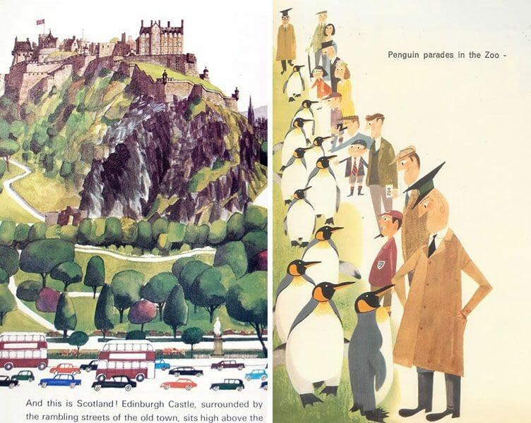 Dibujos de Edimburgo Miroslav Sasek 3