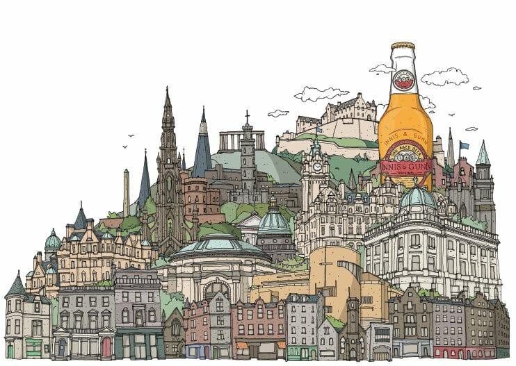 Dibujos de Edimburgo David Galletly (2)