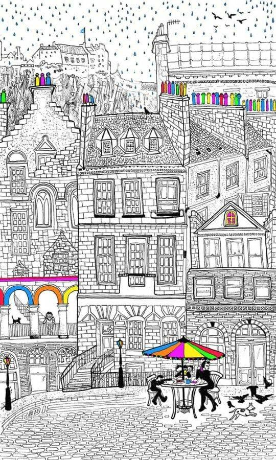 Dibujos de Edimburgo Libby Walker