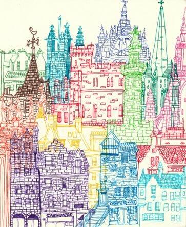 Dibujos de Edimburgo Chetan Kumar