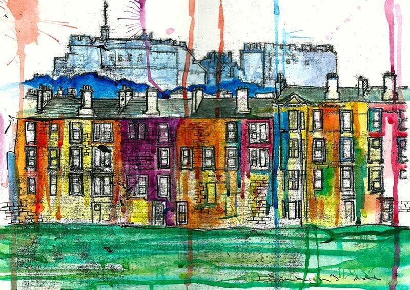 Dibujos de Edimburgo Rowan Leckie