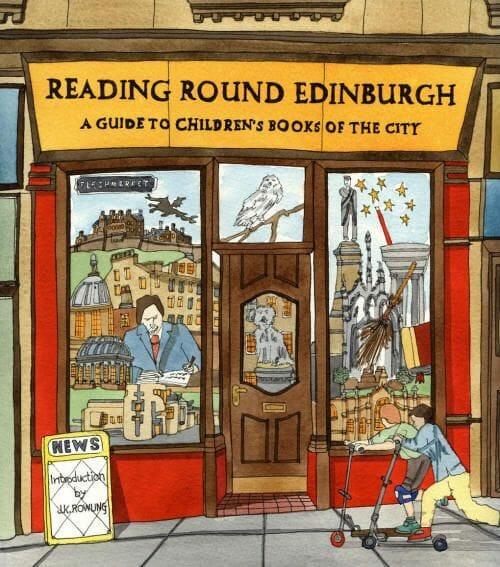 Dibujos de Edimburgo Adrian B McMurchie