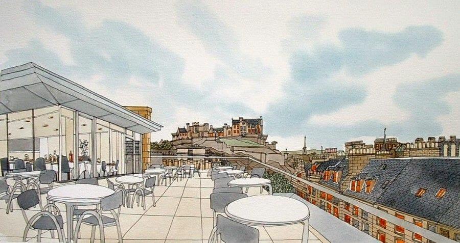 Dibujos de Edimburgo Adrian B. McMurchie