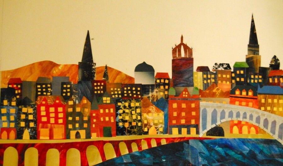 Collage de Edimburgo