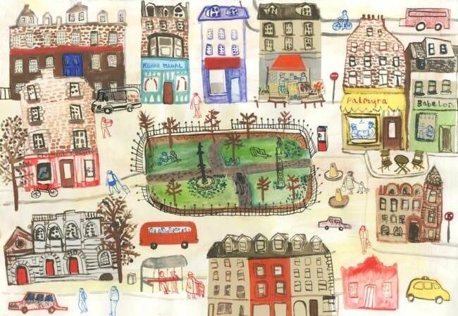 Dibujos de Edimburgo Maisie Shearring