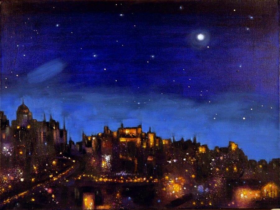 Dibujos de Edimburgo Ritchie Collins