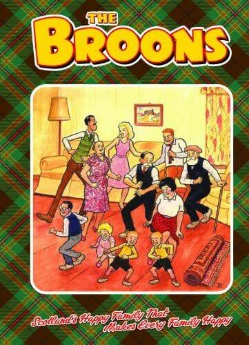 Souvenirs de Escocia Broons Annual 2012