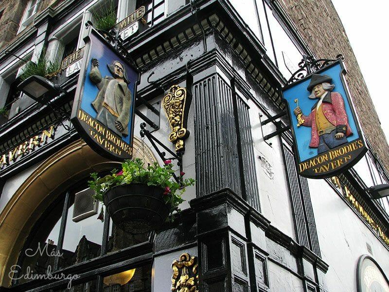 Leyendas de Edimburgo - Deacon Brodie y el pub de la Royal Mile