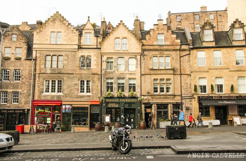 Leyendas de Edimburgo - Maggie Dickson en Grassmarket