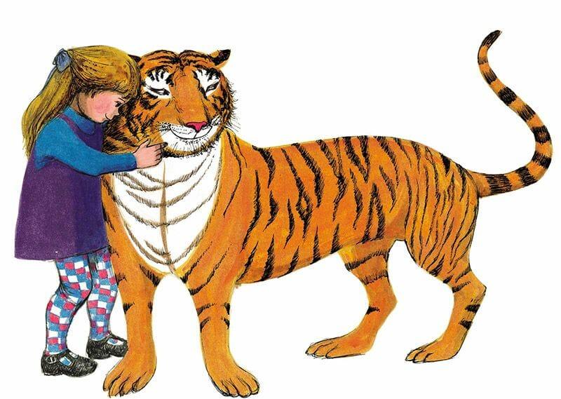 Clásicos de la literatura infantil inglesa - El tigre que vino a tomar el té