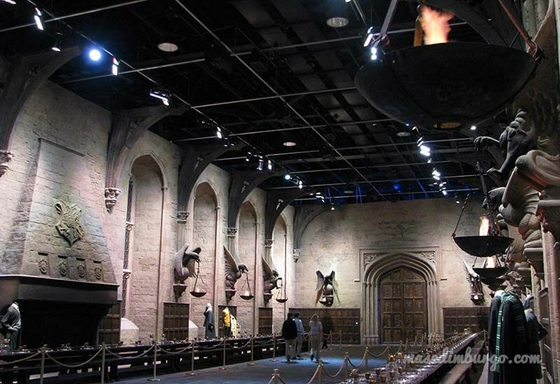 Los estudios de Harry Potter en Londres