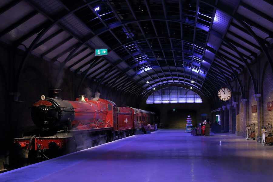 Hogwarts Express estudios de Harry Potter Londres