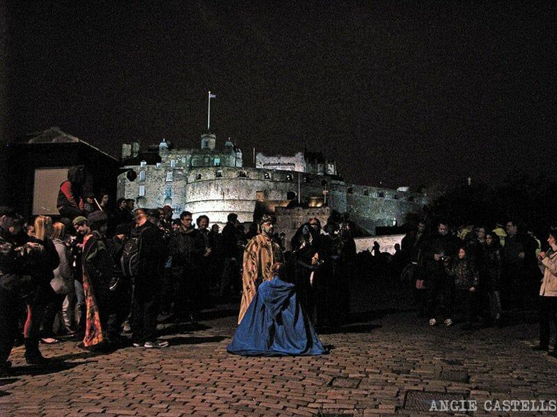 Samhuinn Halloween en Edimburgo