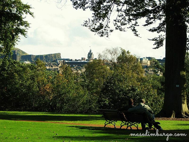 Los mejores miradores de Edimburgo: el Jardín botánico de Edimburgo