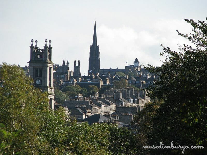 Visitar Jardin Botanico de Edimburgo