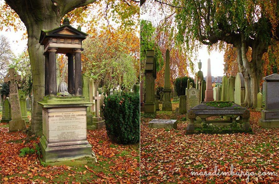 Paseando por el cementerio de Dean, en Edimburgo