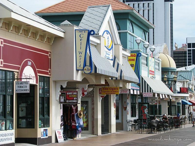Miniguía de Atlantic City, tras las notas de Springsteen Mas Edimburgo (32)