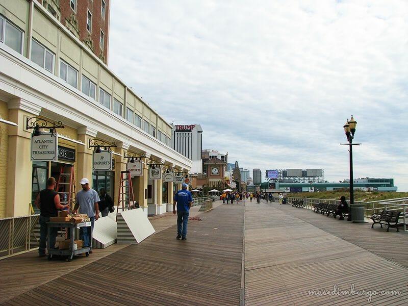 Miniguía de Atlantic City, tras las notas de Springsteen Mas Edimburgo (22)