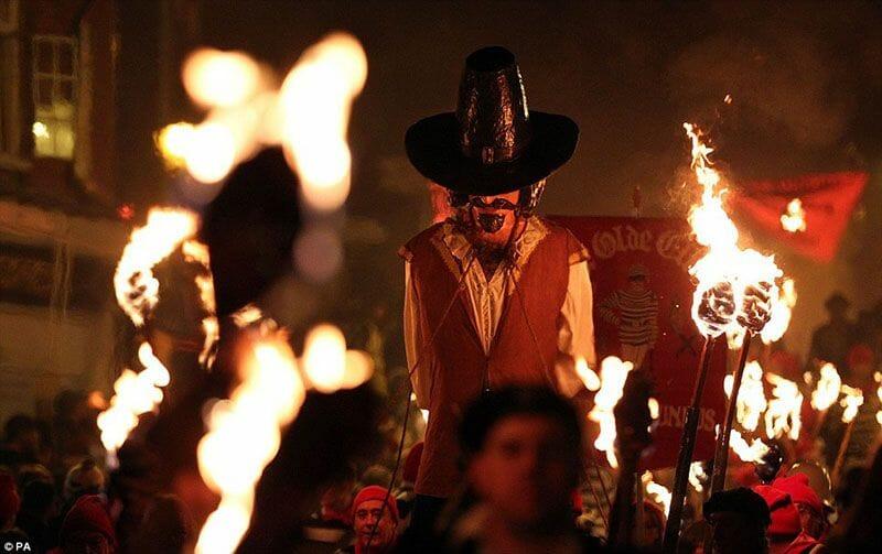 Guy Fawkes Night, la noche de las hogueras (5 de noviembre)