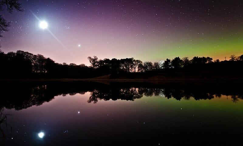 La Aurora Boreal en Escocia Mas Edimburgo Kenny Muir (2)
