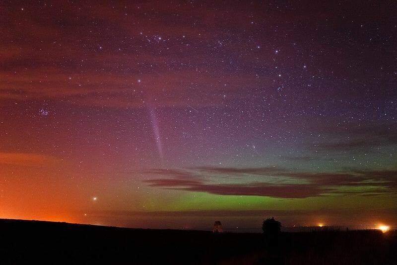 La Aurora Boreal en Escocia Mas Edimburgo Kenny Muir (4)
