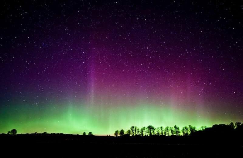 La Aurora Boreal en Escocia Mas Edimburgo Kenny Muir (5)
