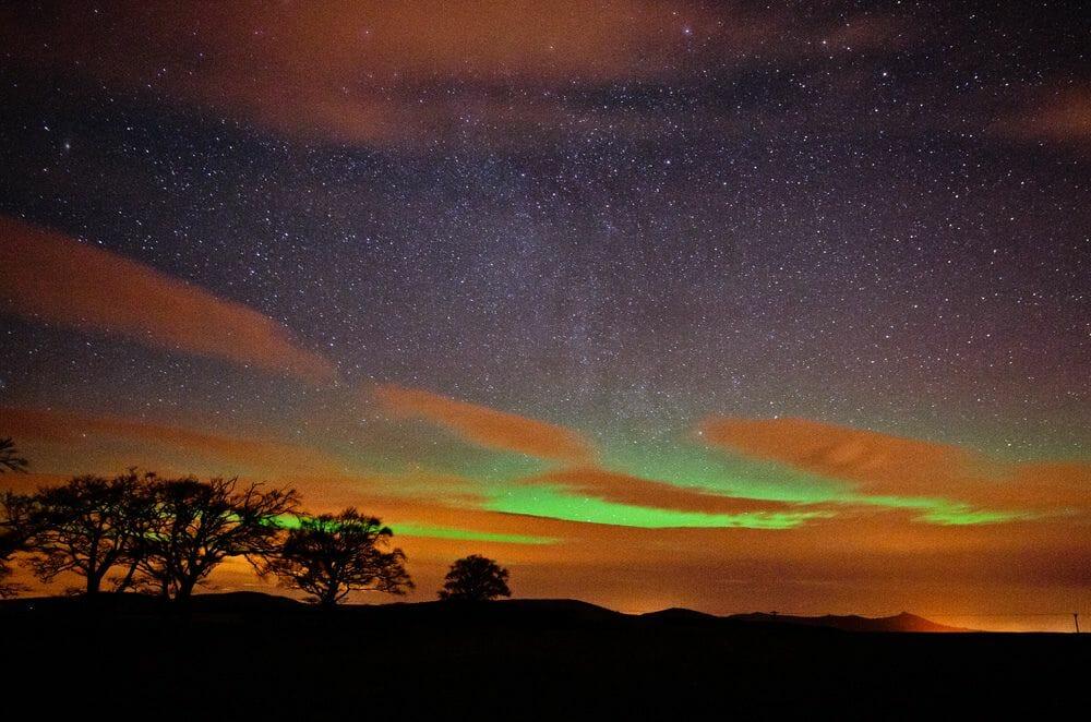 La Aurora Boreal en Escocia Mas Edimburgo Kenny Muir (7)