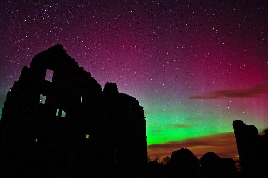 La Aurora Boreal en Escocia Mas Edimburgo Kenny Muir (9)