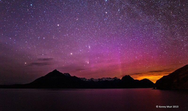 La Aurora Boreal en Escocia Mas Edimburgo Kenny Muir (13)