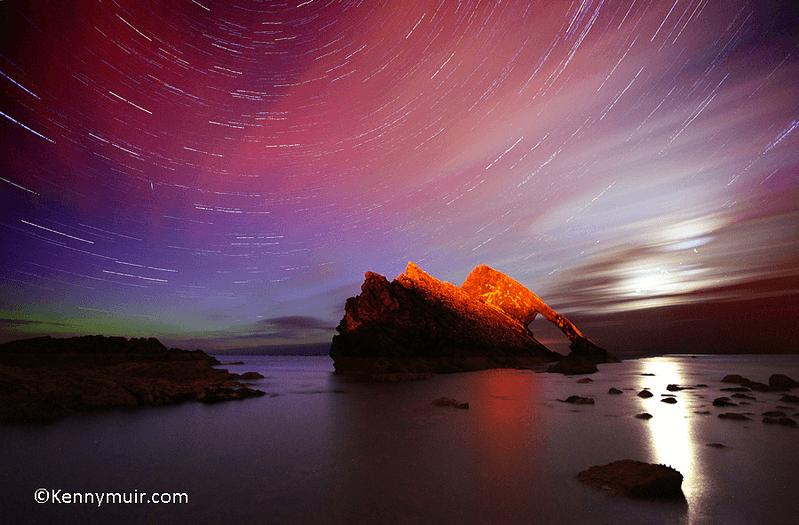 La Aurora Boreal en Escocia Mas Edimburgo Kenny Muir (14)