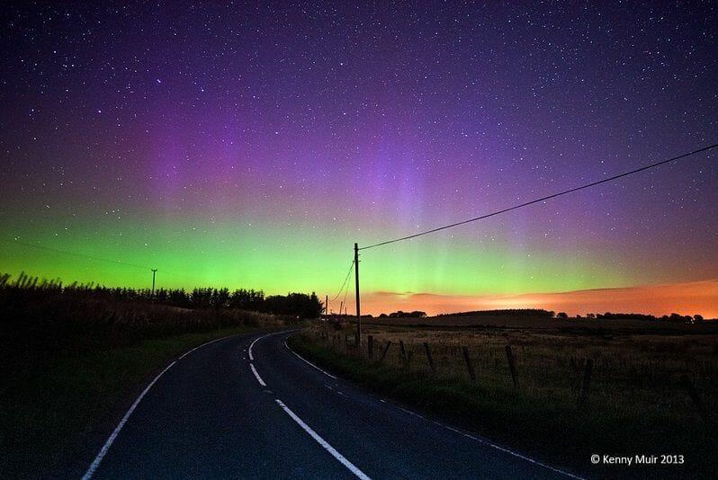 La Aurora Boreal en Escocia Mas Edimburgo Kenny Muir (16)