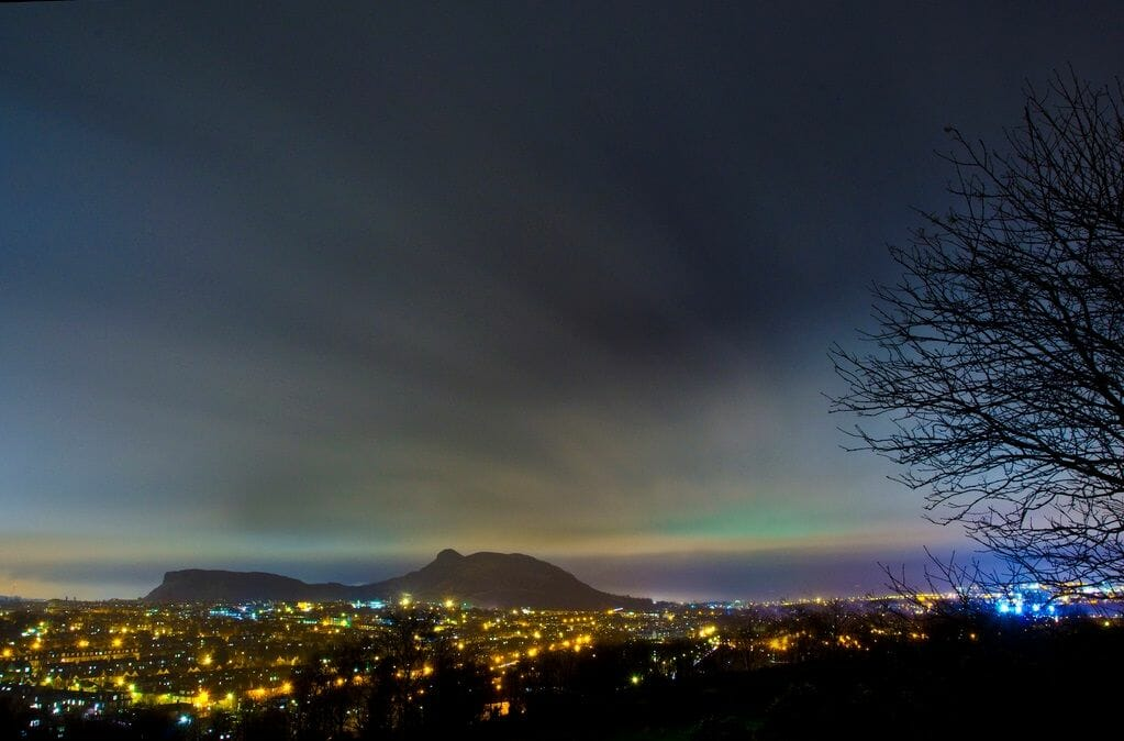 La Aurora Boreal en Escocia Mas Edimburgo Grant Ritchie (2)
