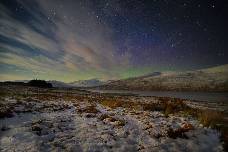 La Aurora Boreal en Escocia Mas Edimburgo John Ellis (1)