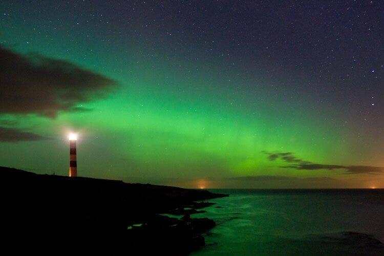 La aurora boreal en Escocia: información y fotos